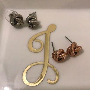 Jewelry - Love knot earrings